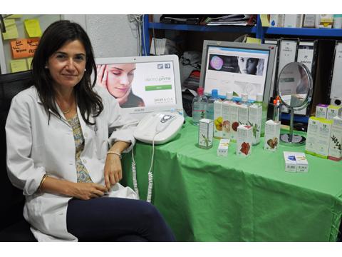 Diagnóstico de piel con Plante System