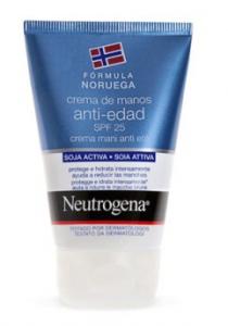 Crema de manos antiedad neutrogena