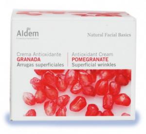 Crema antioxidante granada