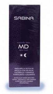 Mascarilla natural sabina detox