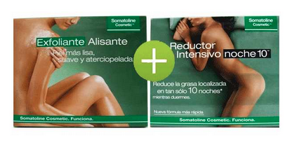 Kit somatoline reduce y exfoliante