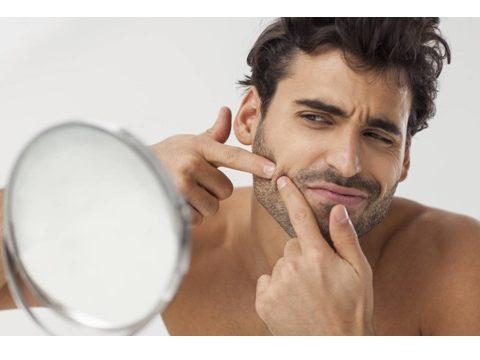 eliminar acné hombres