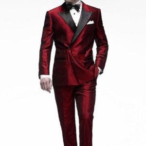 look nochevieja traje rojo
