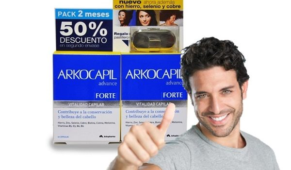 evita la caída del cabello con Arkocapil pelo fuerte y sano