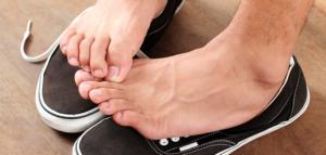 eliminar mal olor de pies