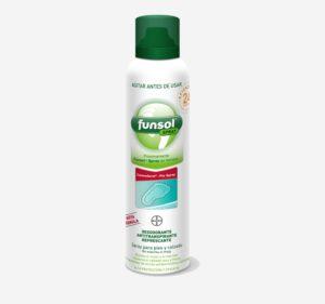 eliminar el olor de pies con Funsol spray