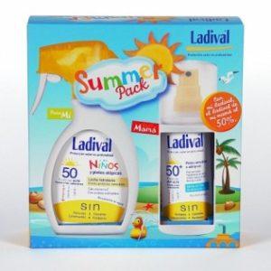 protector solar pack familia ladival